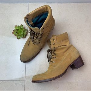 Timberland Women's Distressed Heeled Boots